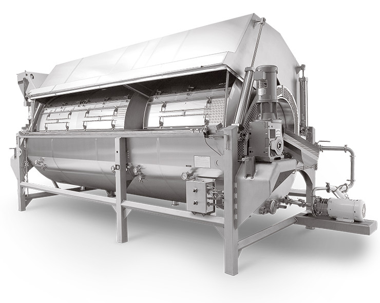 Rotary Drum Cooler Cooker Pasteurizers